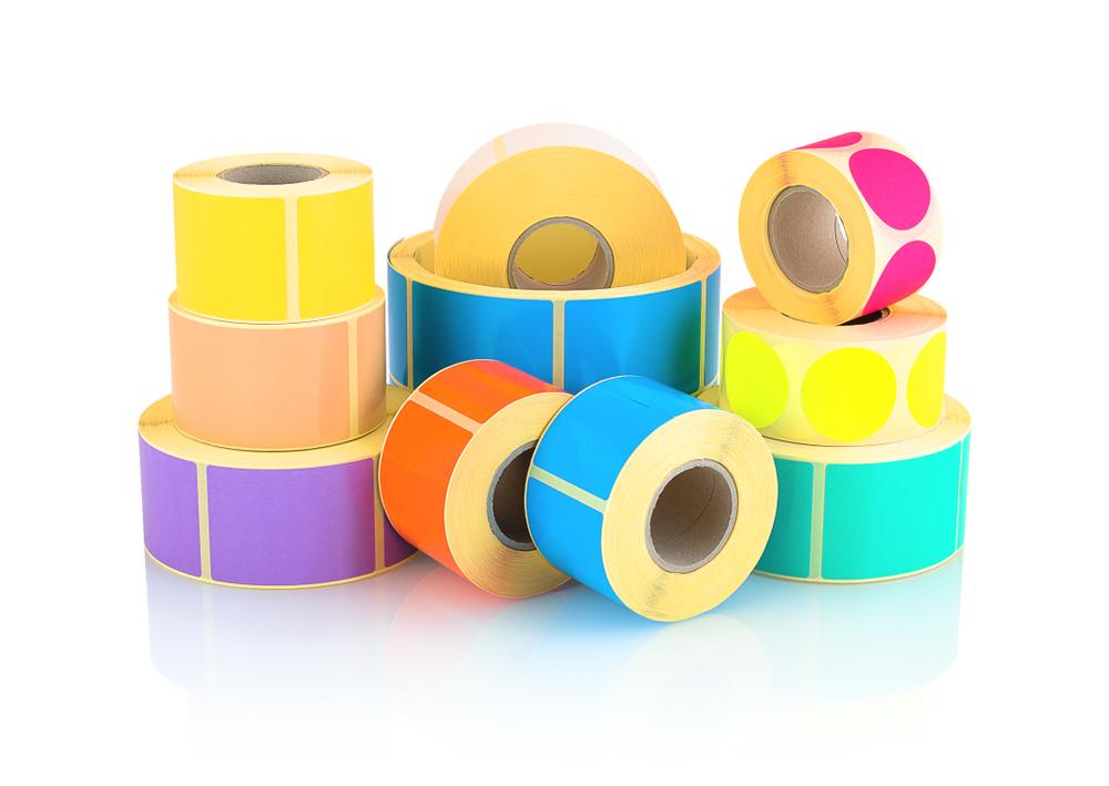 comunicação etiquetas adesivas